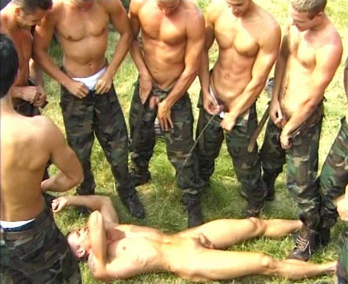 men peeing Nude