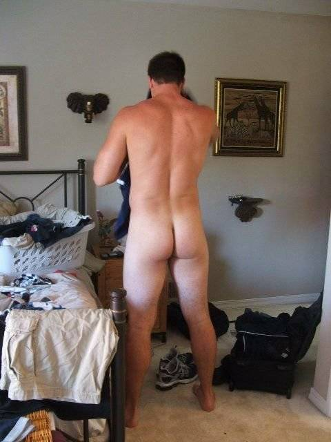 nude review Male butt
