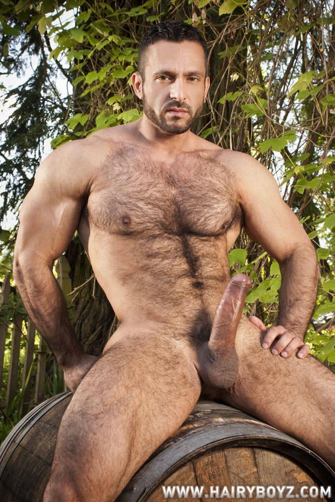 Naked big men