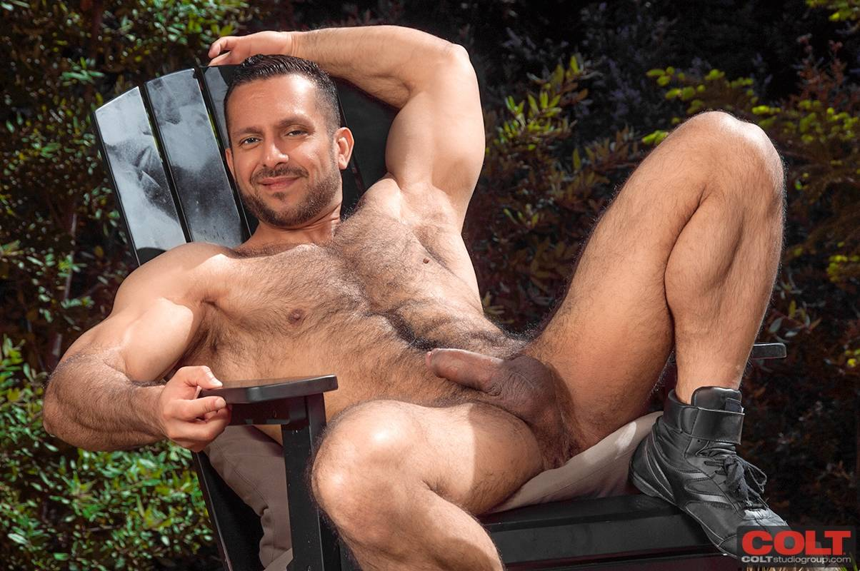 Model Of The Day Adam Champ  Daily Squirt-7224