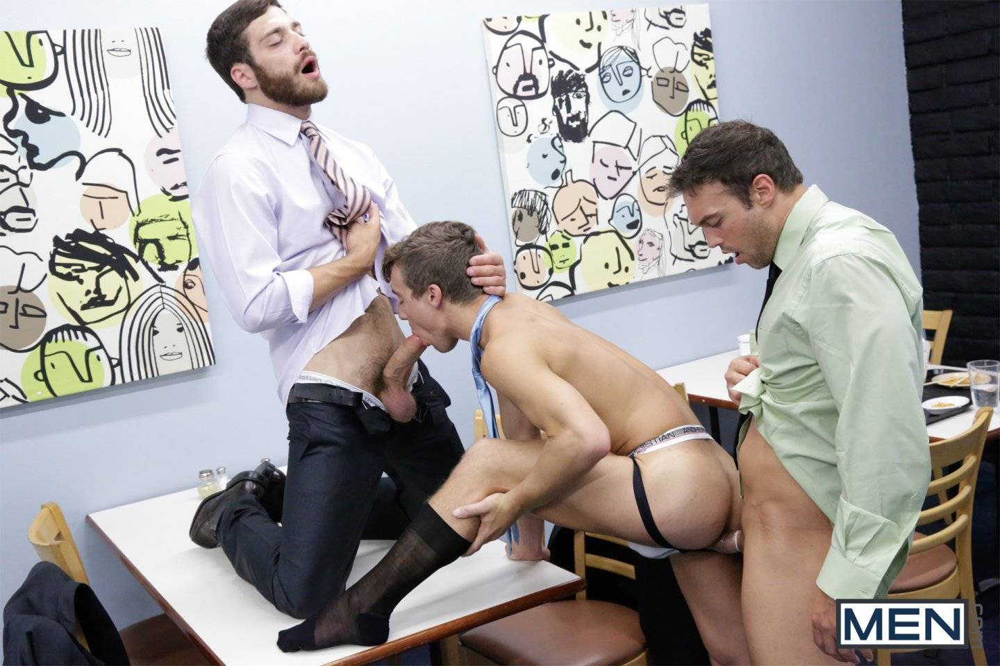 Gay doctor examine guy penis and rub xxx