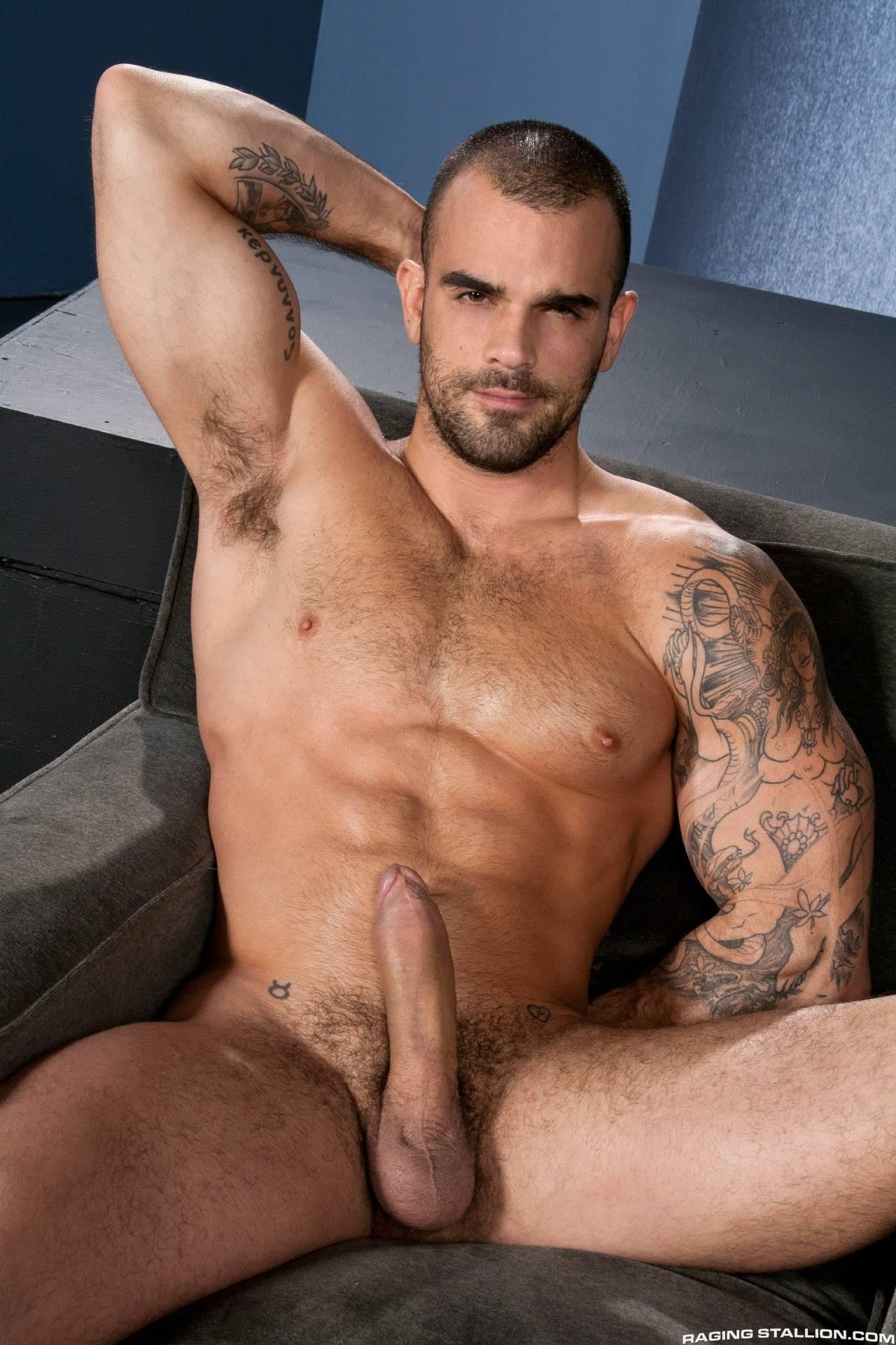 Hunk pummels big black booty hard doggy style on sofa 10