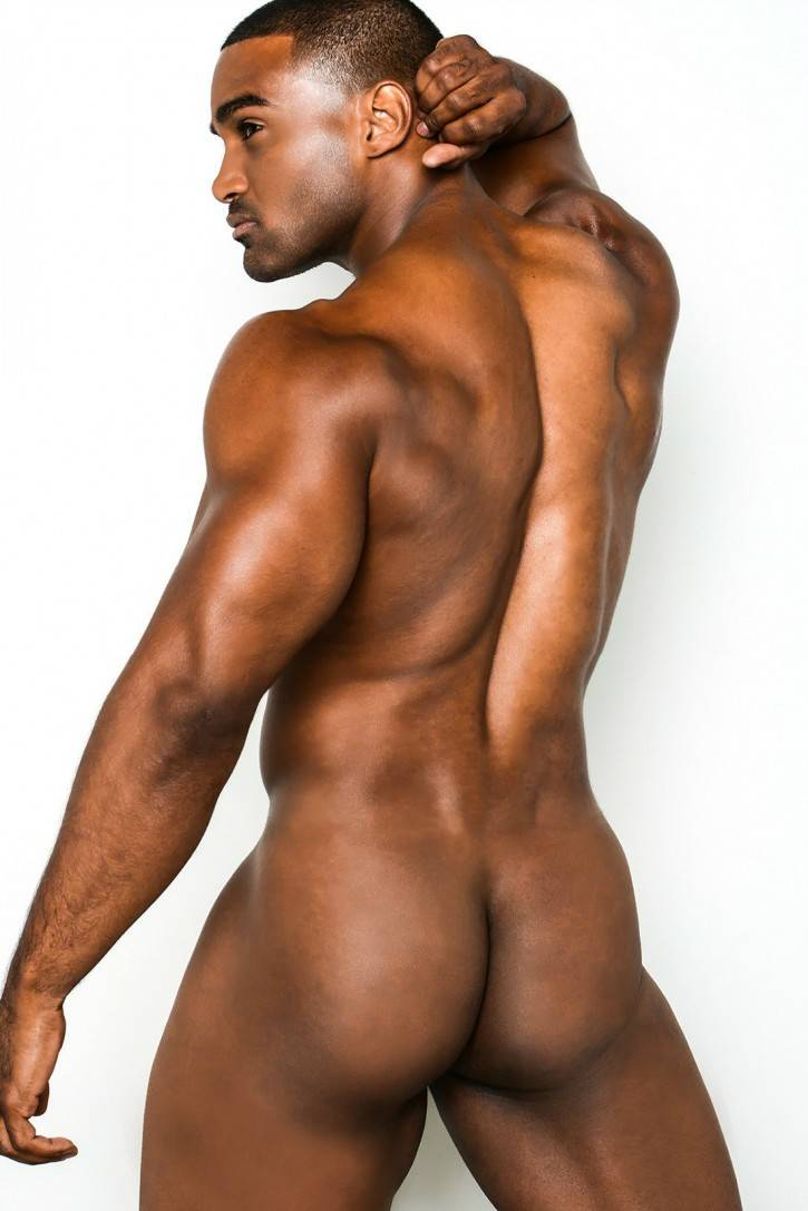 fat naked black man