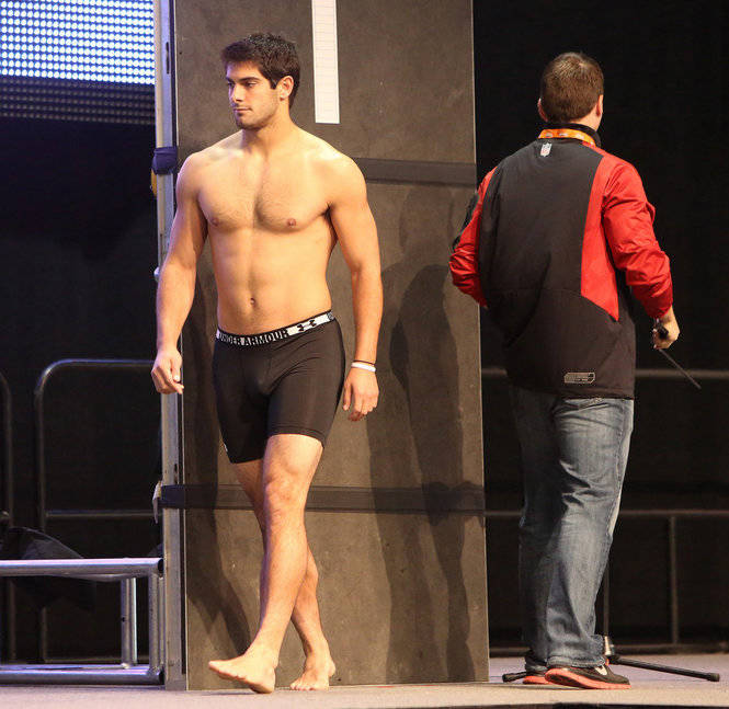 Jimmy Garoppolo football player naked