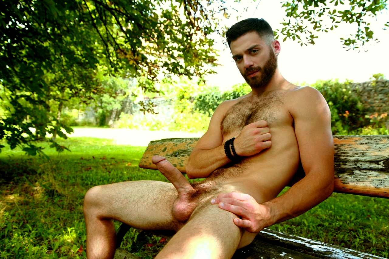naked Tim Campbell