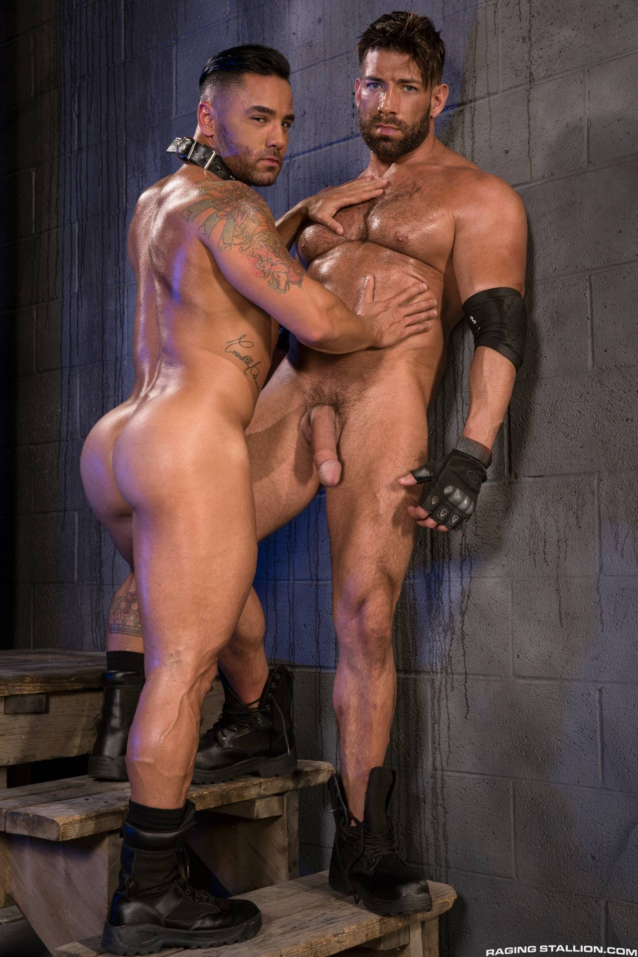 Bruno bernal takes it after throating cock 6